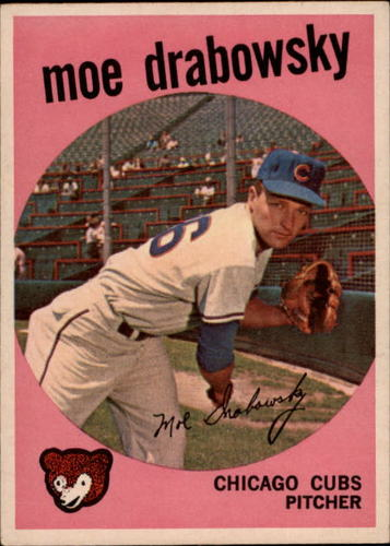 Photo of 1959 Topps #407 Moe Drabowsky