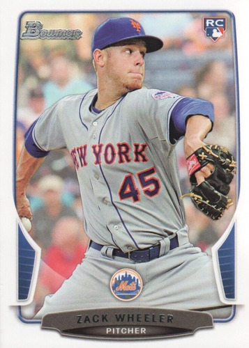Photo of 2013 Bowman Draft #20 Zack Wheeler  Rookie Card