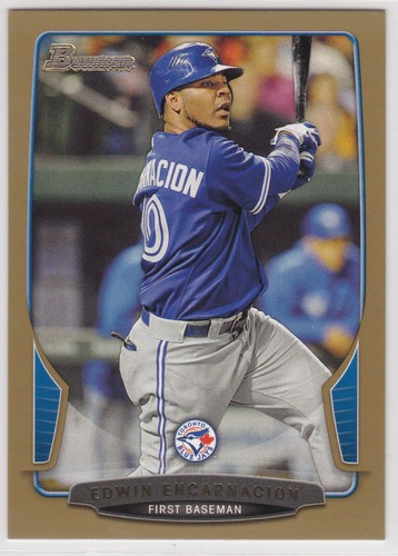 Photo of 2013 Bowman Gold #123 Edwin Encarnacion