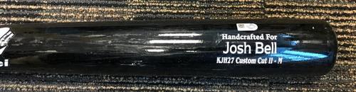 Photo of Josh Bell Model Team-Issued Broken Bat