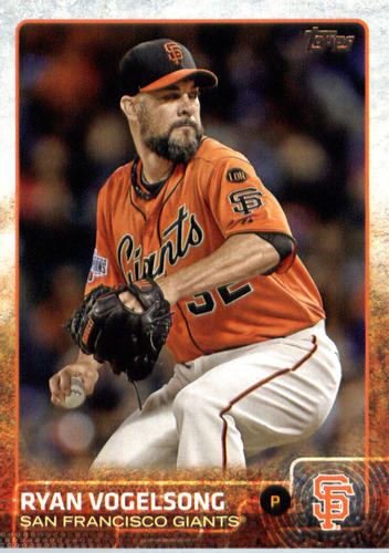 Photo of 2015 Topps Update #US5 Ryan Vogelsong