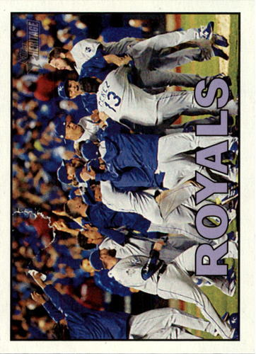 Photo of 2016 Topps Heritage #349 Kansas City Royals