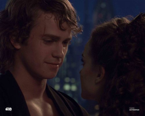 Anakin Skywalker and Padmé Amidala