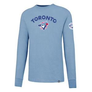Toronto Blue Jays Fieldhouse Cooperstown Long Sleeve by '47 Brand