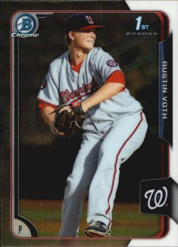 Photo of 2015 Bowman Chrome Prospects #BCP28 Austin Voth