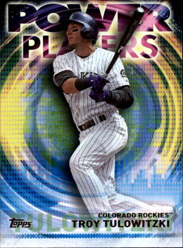 Photo of 2014 Topps Update Power Players #PPATT Troy Tulowitzki