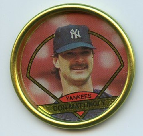 Photo of 1990 Topps Coins #21 Don Mattingly