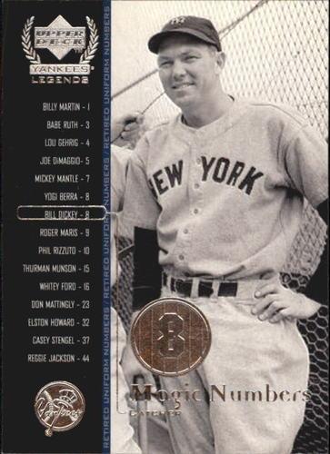Photo of 2000 Upper Deck Yankees Legends #57 Bill Dickey MN