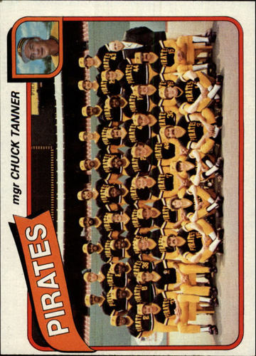 Photo of 1980 Topps #551 Pittsburgh Pirates CL/Chuck Tanner MG