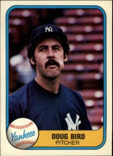 Photo of 1981 Fleer #106 Doug Bird