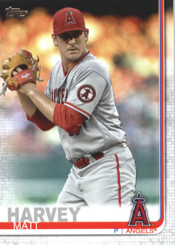 Photo of 2019 Topps #490 Matt Harvey