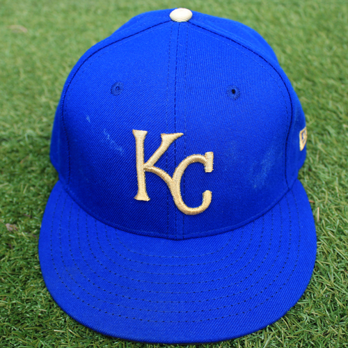 Photo of Game-Used Cap: Nicky Lopez (Size 7  - MIN @ KC - 9/27/19)