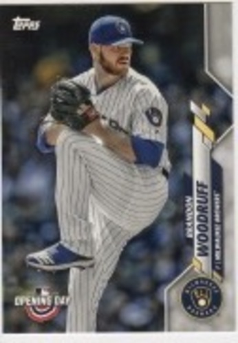 Photo of 2020 Topps Opening Day #4 Brandon Woodruff