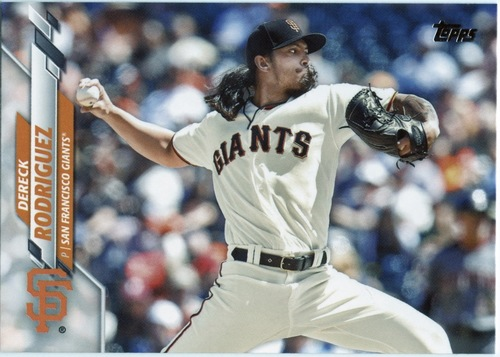 Photo of 2020 Topps #393 Dereck Rodriguez