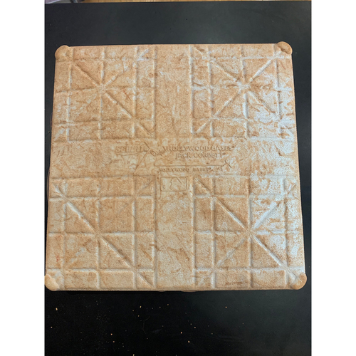 Photo of  Boston Red Sox May 14, 15, 16, 29, 2021 & June 7, 2021 Game Used 2nd Base - Shohei Ohtani Home Run May 14 (11th of the season) and May 16 (12th)