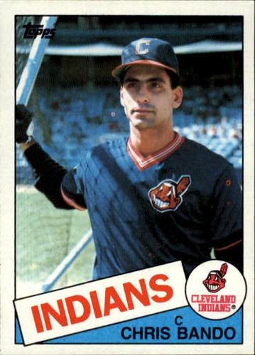 Photo of 1985 Topps #14 Chris Bando