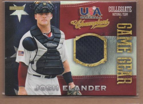 Photo of 2013 USA Baseball Champions Game Gear Jerseys #10 Josh Elander