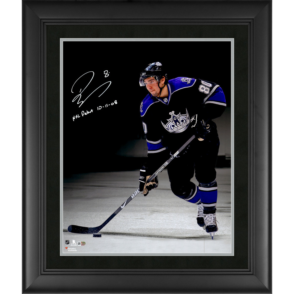 Drew Doughty Los Angeles Kings Framed Autographed 16