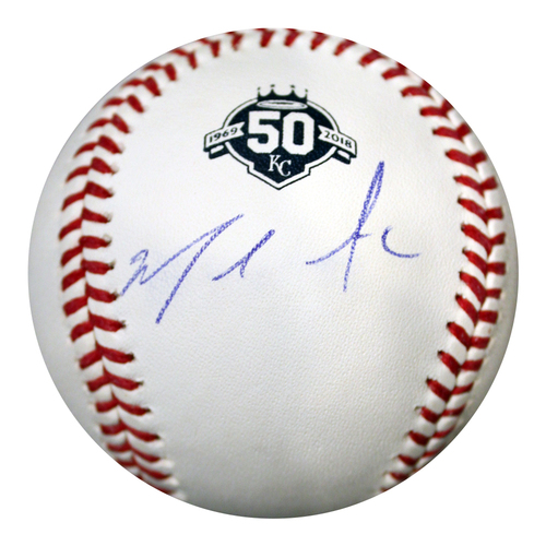 Photo of Autographed 50th Season Baseball: Miguel Almonte