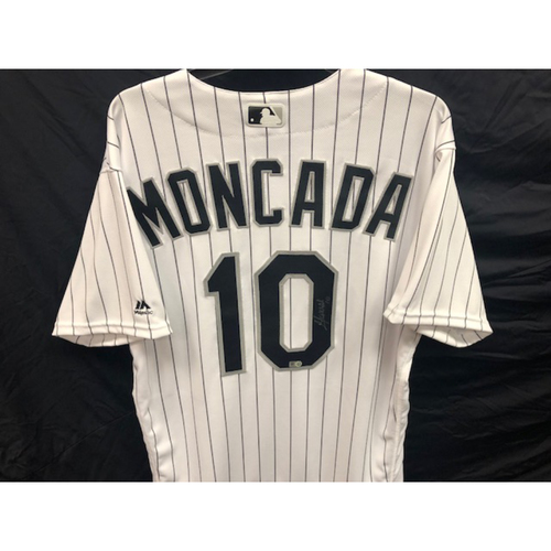 Yoan Moncada Autographed Jersey -  Size 46