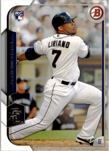 Photo of 2015 Bowman #123 Rymer Liriano RC