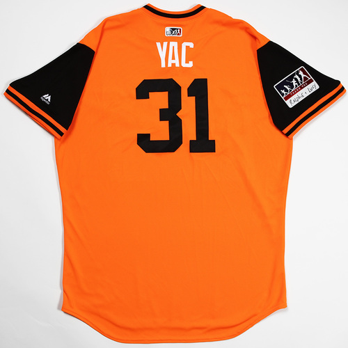 "Photo of Jimmy ""Yac"" Yacabonis Baltimore Orioles Game-Used 2018 Players' Weekend Jersey"
