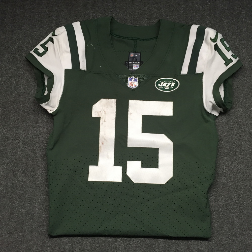 NFL Auction | STS - Jets Josh McCown game worn Jets jersey ...