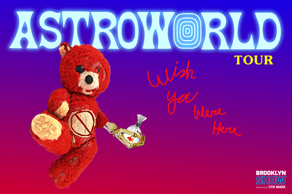 Clickable image to visit Travis Scott Astroworld Tour in Brooklyn
