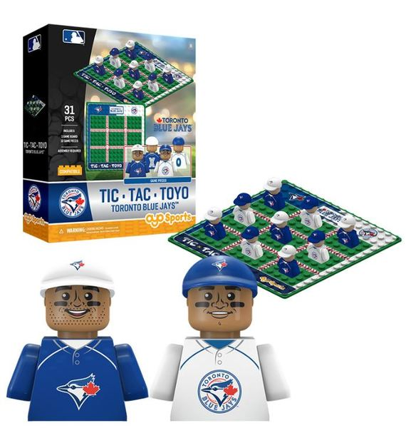 Toronto Blue Jays Tic Tac Toyo Game Set by OYO Sports