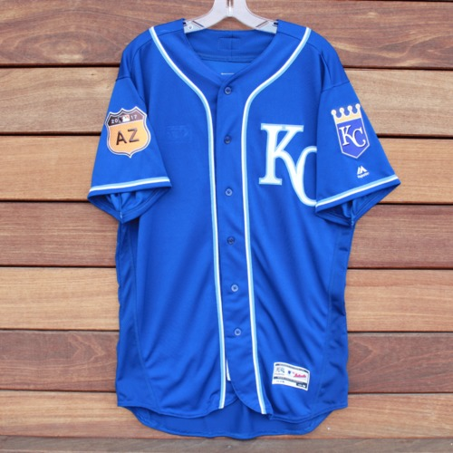 Photo of Team-Issued 2017 Spring Training Jersey: George Brett (Size 46)