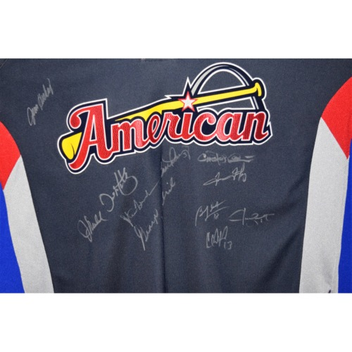Photo of Rays Baseball Foundation Auction: 2009 Rays All Star Autographed Jersey  - Size Large