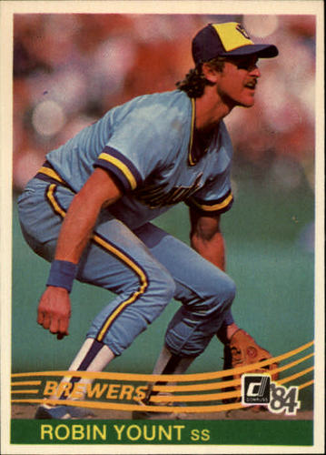 Photo of 1984 Donruss #48 Robin Yount
