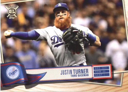 Photo of 2019 Topps Big League #282 Justin Turner
