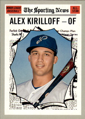 Photo of 2019 Topps Heritage Minors #181 Alex Kirilloff AS