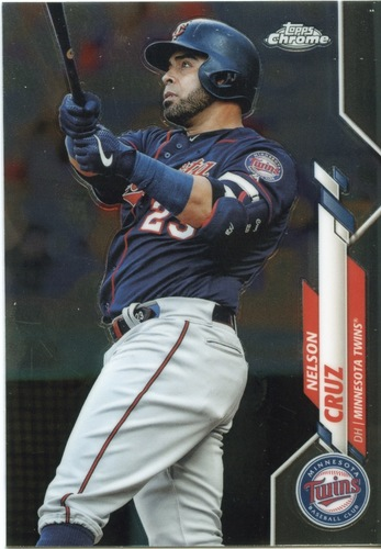 Photo of 2020 Topps Chrome #69 Nelson Cruz