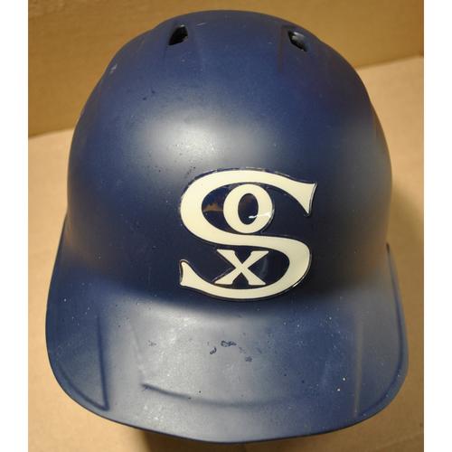 2021 New York Yankees vs. Chicago White Sox in Dyersville, Iowa - Game-Used Batting Helmet - Seby Zavala #44