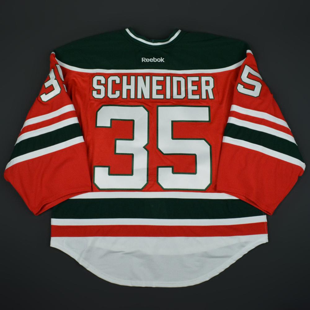 Cory Schneider - New Jersey Devils - Retro Night Game-Worn Jersey ...