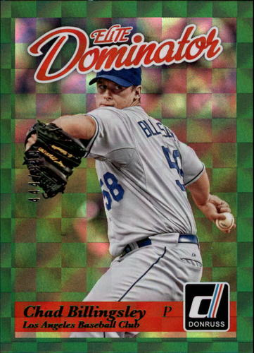 Photo of 2014 Donruss Elite Dominator #20A Chad Billingsley
