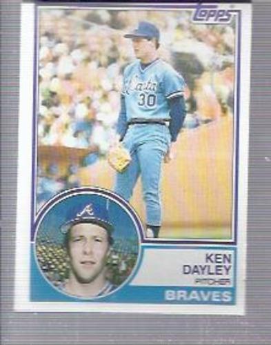 Photo of 1983 Topps #314 Ken Dayley
