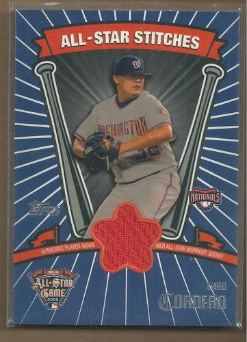 Photo of 2005 Topps Update All-Star Stitches #CCO Chad Cordero D