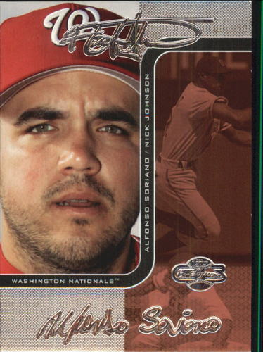 Photo of 2006 Topps Co-Signers Changing Faces Silver Red #43A Nick Johnson/Alfonso Soriano