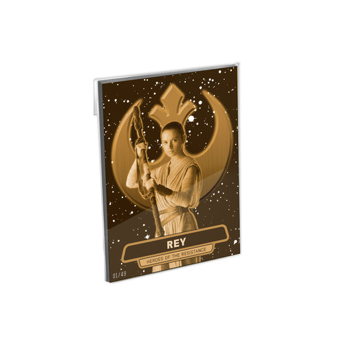 Star Wars The Force Awakens Series 2 Heroes of Resistance 5x7 Complete Set - # to 49