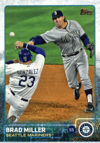 Photo of 2015 Topps Update #US7A Brad Miller