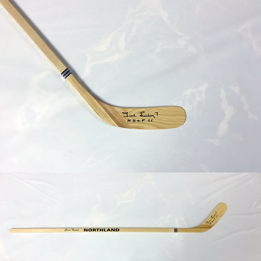 TED LINDSAY Signed Northland Stick - Detroit Red Wings