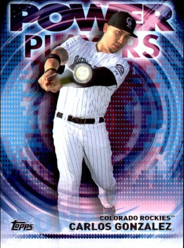 Photo of 2014 Topps Update Power Players #PPACGN Carlos Gonzalez