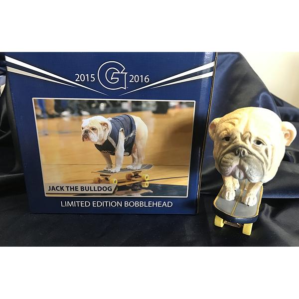 Photo of Jack the Bulldog Commemorative Skateboarding Bobblehead