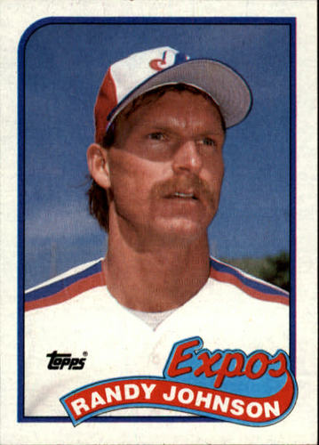 Photo of 1989 Topps #647 Randy Johnson RC