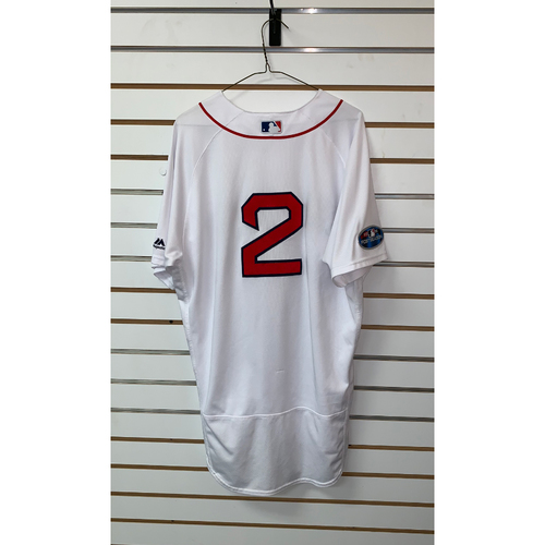 Photo of Xander Bogaerts Game Used April 5, 2018 Home Jersey