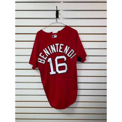 Photo of Andrew Benintendi Team Issued Home Batting Practice Jersey