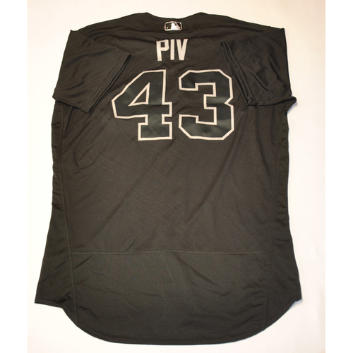 "Photo of Nick ""PIV"" Pivetta Philadelphia Phillies Game-Used 2019 Players' Weekend Jersey"